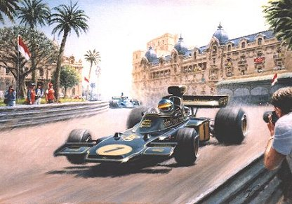Formula One Greeting Cards