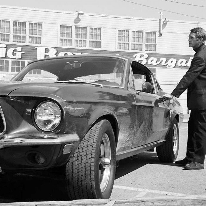 Steve McQueen and the Mustang