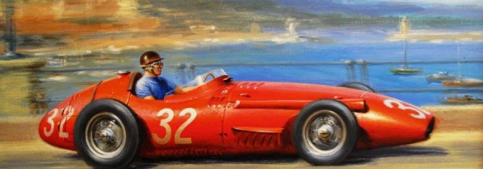 Maserati 250F at Monaco by Tony Smith