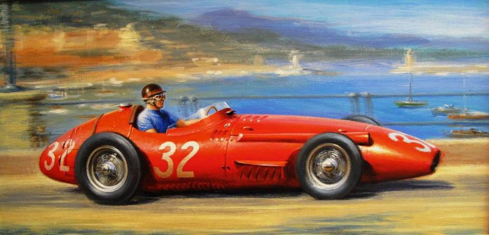 Monaco-Maserati-250F-by-Tony-Smith